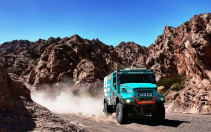 Dakar 2017: a hard stage for de Rooy leaves Iveco 3rd
