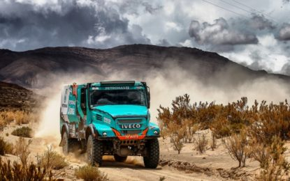 Petronas Team De Rooy Iveco's Gerard de Rooy able to live with 3rd on Dakar
