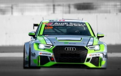 Holstein Wins In Dubai for Audi on his 24 Hour Debut