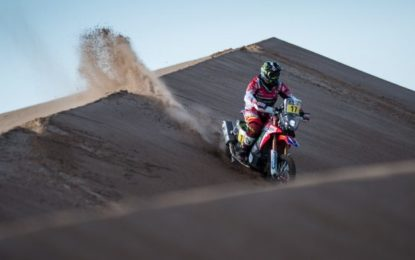 Trouble for Monster Energy Honda Team in Bolivia