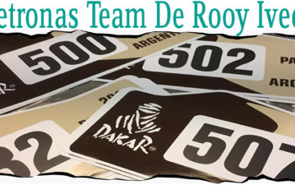 Team Petronas De Rooy Iveco prepares for final challenge