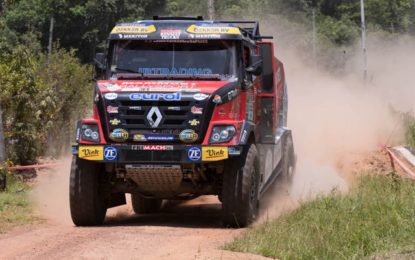 Renault Trucks & MKR Adventure team fifth in Dakar