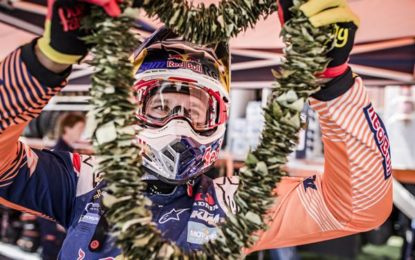 Red Bull KTM's Sam Sunderland leads Dakar Rally (Bikes)