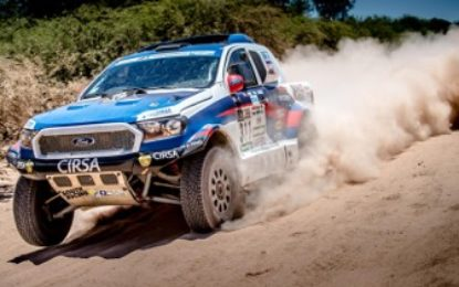 """The Dakar Rally has been brutal this year"" – South Racing (Ford Ranger)"