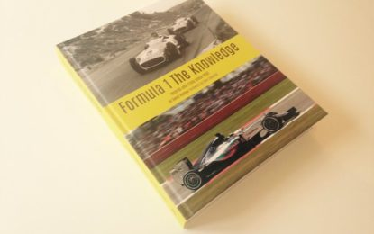FORMULA 1-THE KNOWLEDGE: 434 page hard-back on offer!