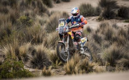 KTM's Sam Sunderland maintains overall lead after Dakar SS 7