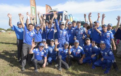 Kamaz Master 1-2 in Dakar 2017 truck category