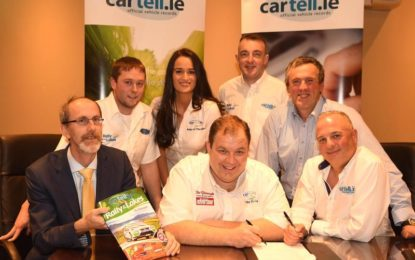 Cartell.ie signs-up with Rally of the Lakes, Killarney for 3 more years