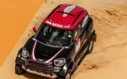 Another top 3 finish for Mini John Cooper Works on Silk Way
