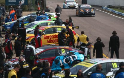 BTCC stars offer sneak preview as Thruxton revs up for tin-top tussle