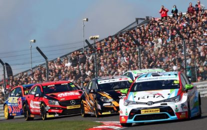 David vs. Goliath duel races into Thruxton as BTCC battle intensifies