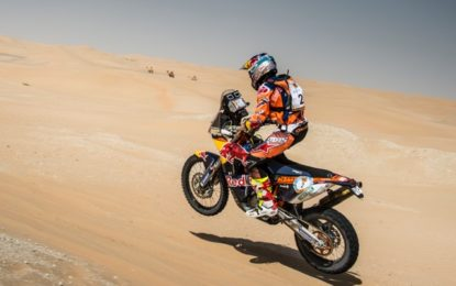 KTM primed after successful prologue on Rally Morocco