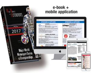 WHO WORKS IN MOTORSPORTS 2017 – 13th Edition – AVAILABLE