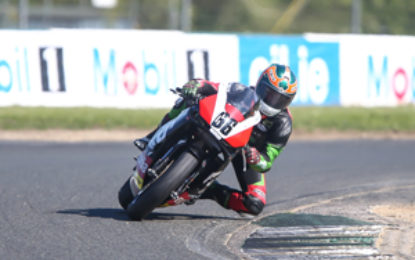 Irwin in for Masters Superbike Young Racer of the Year final