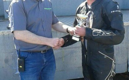 Twin Trophies for Michael Gillan at Mondello Masters Superbike series