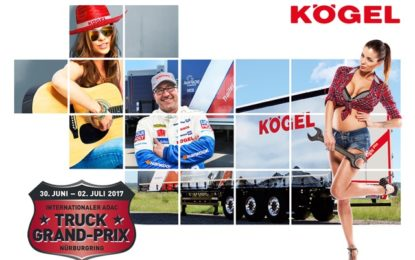 ADAC Truck Grand Prix 2017 – Kögel Rocks!