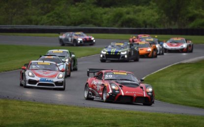 Team Panoz Racing's Podium in Pirelli World Challenge GTS/GT4 Rd 7 at Lime Rock Park