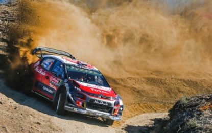 Citroën Total Abu Dhabi WRT enters new line-up in Sardinia