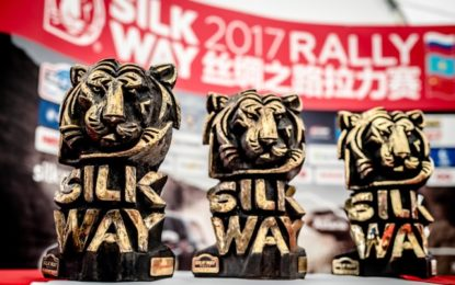 2 in a row as PEUGEOT triumphs at Silk Way Rally