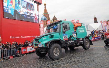 Silk Way Rally 2017: IVECO & Team PETRONAS De Rooy IVECO