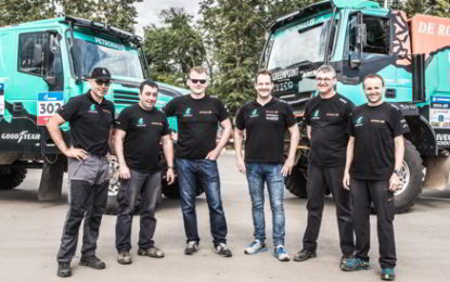 """Silk Way – Iveco's de Rooy satisfied at finish of """"strange but beautiful rally"""""""