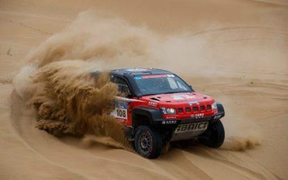 2nd overall for Overdrive racing on Silk Way Rally