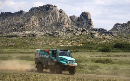 IVECO in Top 5 on SS6 Silk Way Rally