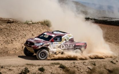 Overdrive Racing's Nasser Saleh Al-Attiyah seal last gasp win in Spain