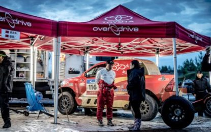5th & 6th overall for Overdrive Racing on Silk Way