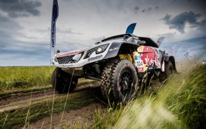 Third SS win for Peugeot Sport on Silk Way