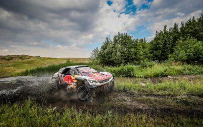 Peugeot keeps ahead of the Posse on Silk Way