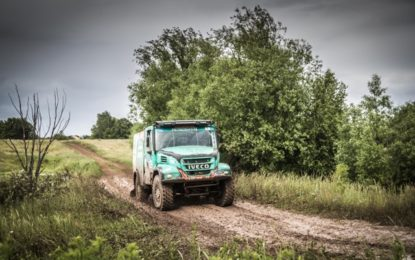 De Rooy takes it easy on Day 1 Silk Way – Van Genugten fastest Iveco