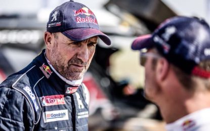 Peugeot DKR on Silk Way Rally podium once more!