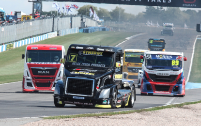 Truck Racing with Team Oliver Racing at Donington