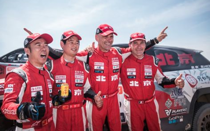 Overdrive Racing at Silk Way Rally '17