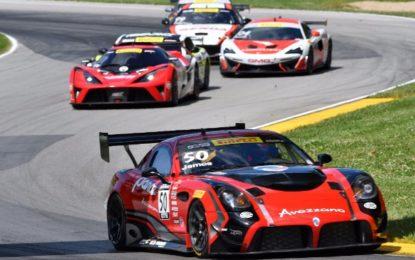 Team Panoz Racing 2nd at Pirelli World Challenge Grand Prix of Mid-Ohio