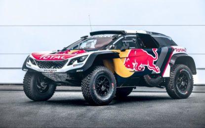 Team Total Peugeot at Silk Way Rally 2017
