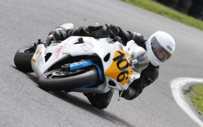 Gillan rides his luck to take lead of Masters Superbike Cup Championship