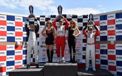 4 wins for Team Panoz Racing Wins Pirelli World Challenge GT4/GTS R14 Utah