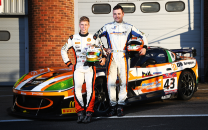 Niall Murray's rapid British GT Debut in Ginetta