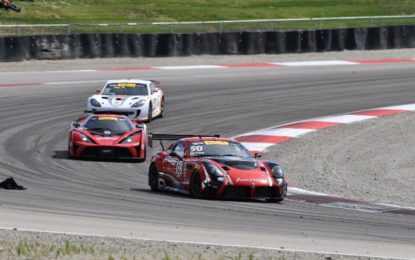 Another Podium for Team Panoz Racing in Pirelli World Challenge GT4/GTS Championship Rd 13