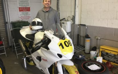 Michael Gillian still leads Cup Class after disrupted Masters Superbike Championship at Mondello