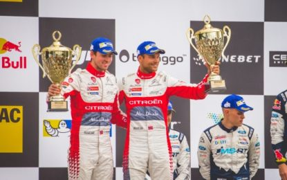 Mikkelsen & Breen 2nd & 5th for Citroën Total Abu Dhabi WRT at Rallye Deutschland
