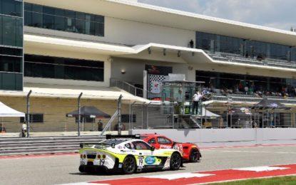 Panoz hit in Turn 16 in Pirelli World Challenge GT4/GTS Championship Rd 16