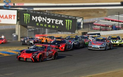 10th Podium for Panoz in Pirelli World Challenge GT4/GTS Finale in Sonoma