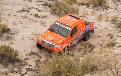 Top 3 finish for South Racing;s Toyota at Desafio Ruta 40 Nord, Argentina