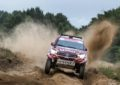 Overdrive Racing's Nasser wins Baja Poland with Toyota Hilux