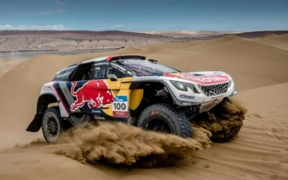 PEUGEOT SPORT enters 2 x 3008DKRs for Rallye du Maroc
