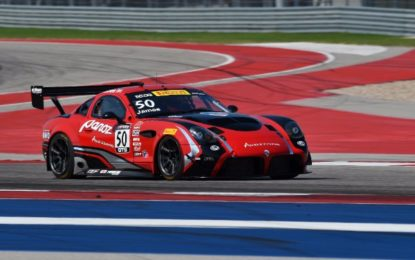 Team Panoz Racing's 2nd in Pirelli World Challenge GT4/GTS Championship Rd 15 – Austin