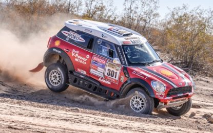 Rallye du Maroc: 5 x MINI in the top 10